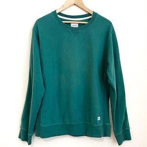 Frank & Oak Rue St-Viateur Speckled Sweatshirt Top